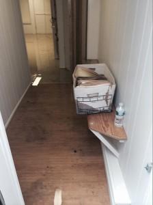 Katy hallway-flood-damage-repair